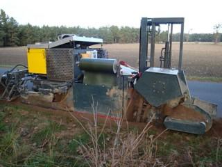 Automatická instalace kořenové bariéry č.2