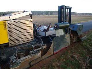 Automatická instalace kořenové bariéry č.5