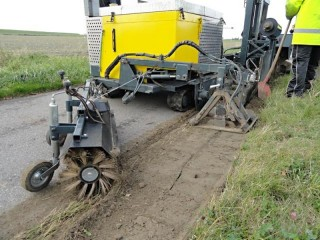 Automatická instalace kořenové bariéry č.6