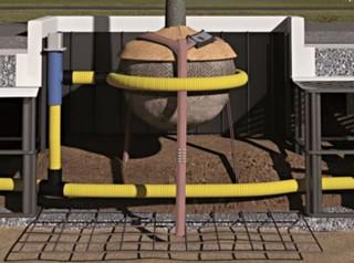 LUWA - kombinovaný systém zalévání a provzdušňování č.1