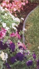 Plastové trávníkové lemovky č.2